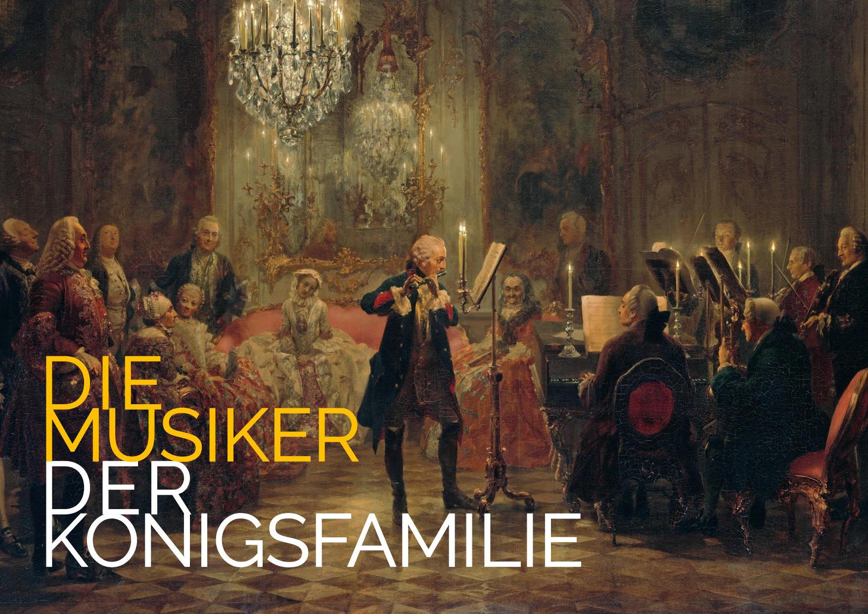 Barockes Konzertprogramm: Die Musiker der Königsfamilie